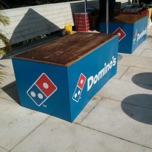 Balcao Dominos Pizza